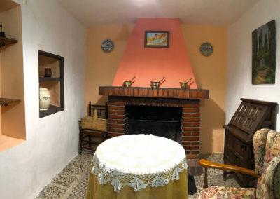 """Casa Rural Los Cipreses de Mesones Guadalajara cerca de Madrid - Foto del saloncito """"Las Encinas"""""""