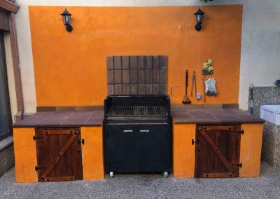 Rural House Los Cipreses de Mesones Guadalajara next to Madrid - Photo of the barbecue