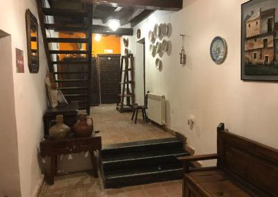 Casa Rural Los Cipreses de Mesones Guadalajara cerca de Madrid - Foto del vestíbulo de entrada