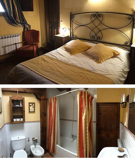 Dormitorio Los Cipreses y baño