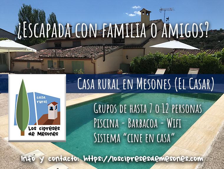 Casa Rural en Mesones (El Casar)