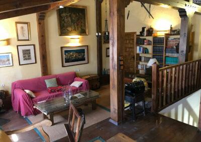 Casa Rural Los Cipreses de Mesones Guadalajara cerca de Madrid - Foto del salón principal