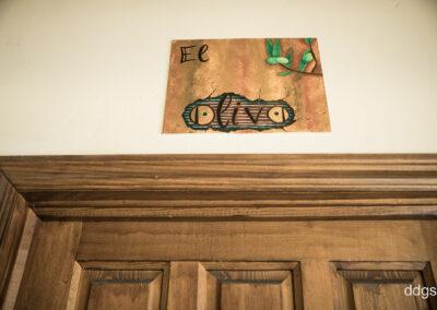 "Casa Rural Los Cipreses de Mesones Guadalajara cerca de Madrid - Foto del cartel de ""El Olivo"""