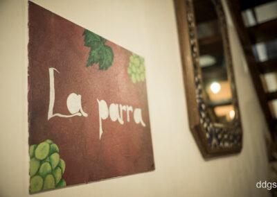 Rural House Los Cipreses de Mesones Guadalajara next to Madrid - Sign at the bedroom La Parra