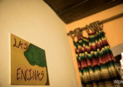 Rural House Los Cipreses de Mesones Guadalajara next to Madrid - Sign at the bedroom Las Encinas
