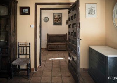 Rural House Los Cipreses de Mesones Guadalajara next to Madrid - Exit of the bedroom La Parra